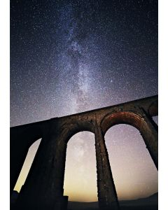 Christmas card Ribblehead viaduct (pack of 12)