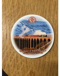 Coaster - round - Ribblehead Viaduct