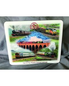 Placemat Set: Settle-Carlisle Railway Steam and Diesel Train Scenes (pack of four)