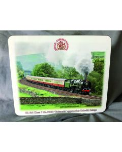 Placemat Set: 70000 'Britannia' approaching Helwith Bridge (pack of four)