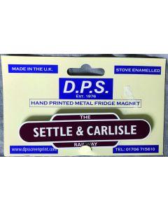 Settle & Carlisle Totem (Magnetic Sign)